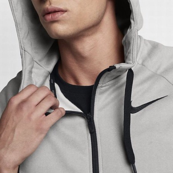 Nike Other - Nike Therma Training Hoodie Grey